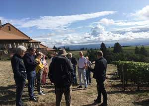 Oregon Wine Tour hosted by Rose Murray Brown MW