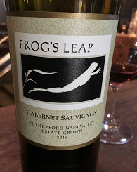 Frogs Leap Cabernet Sauvignon Rutherford Napa Valley