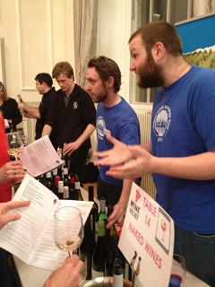 Naked Wines at Comic Relief Wine Tasting Edinburgh