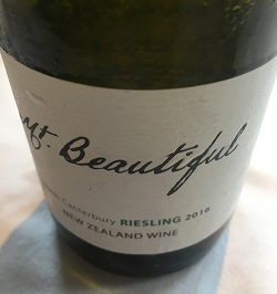 Mt Beautiful Riesling North Canterbury New Zealand