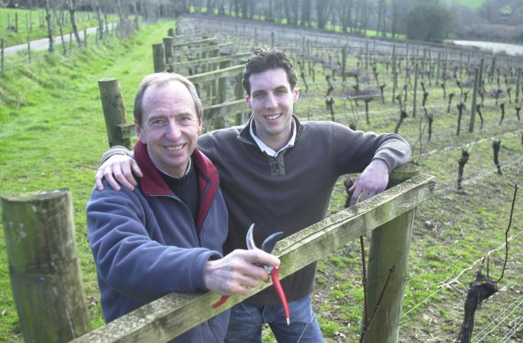 A VISIT TO CAMEL VALLEY image